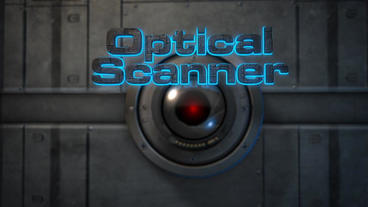 Optical Scanner - Laser Scanning 3D Text Logo Stinger After Effects Project
