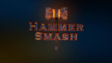 Hammer Smash - Thor's Hammer Style Logo Opener After Effectsテンプレート