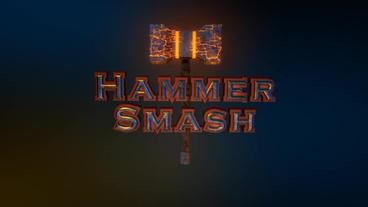 Hammer Smash - Thor's Hammer Style Logo Opener Plantilla de After Effects