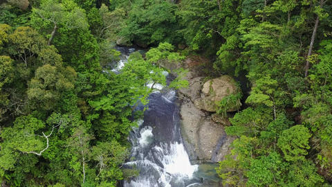 DJI MAVIC 4K Taiwan Nantou Aerial Drone Video Sun-Link-Sea Forest and Nature Res Footage