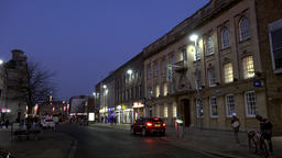 Great Britain England Southampton 48 bank in High Street by Night Footage
