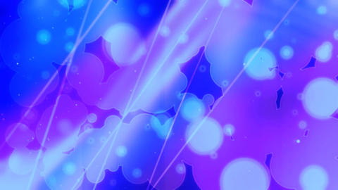 Blue bubbles HD Animation