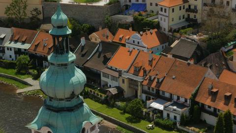 Cesky Krumlov, Czech Republic, Czechia Footage