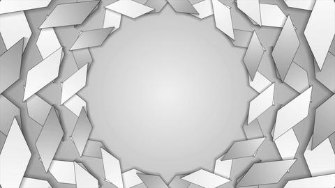 Abstract corporate tech grey video animation Animation