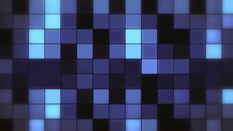Abstract CGI motion graphics and animated background with animated squares Footage
