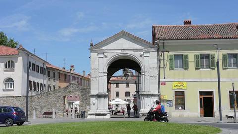 The Muda city gate in Koper