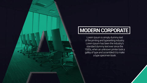 Modern Corporate After Effectsテンプレート