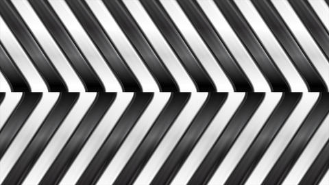 Black and white abstract glossy stripes motion background Animation
