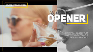 Modern Opener After Effects Templates