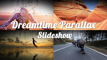 Dreamtime Parallax Slideshow After Effects Templates
