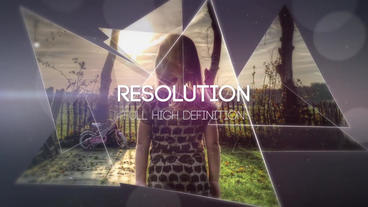 The Triangles After Effects Template