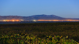 4K Timelapse Of Salinas Valley stock footage