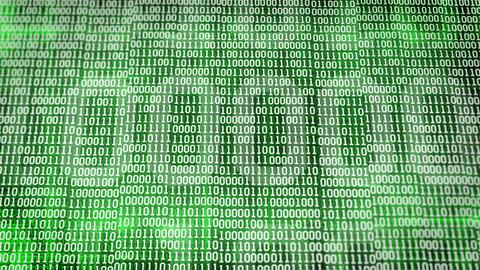 binary code Animation