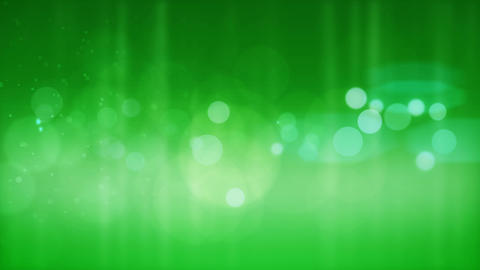 Abstract green bokeh background Animation