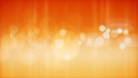 Abstract orange particles background Animation