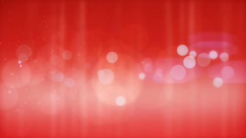 Beautiful Red Particles Background stock footage