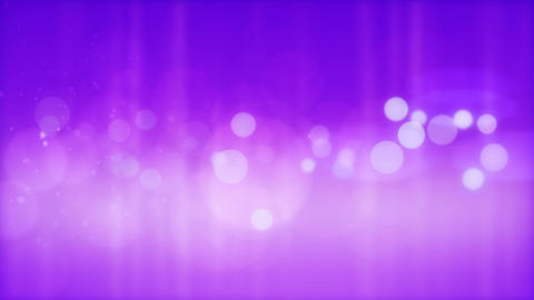 Abstract glowing circles on a purple background Animation