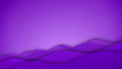 Abstract purple waves flow flat animation Animation