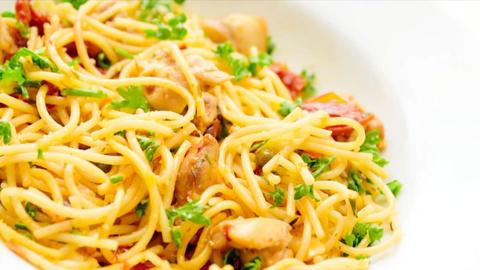 Italian Food stock footage