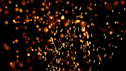 Rising Embers, High Flames (30fps) stock footage
