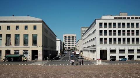 Fendi headquarter in Rome Footage