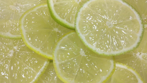 Lime slices as background GIF