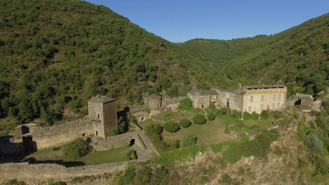 Brousse The Castle, seen by drone Live Action