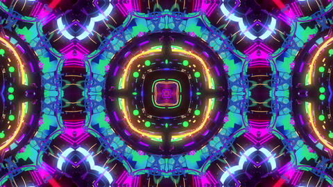 Strobing Flower Kaleidoscope Animation