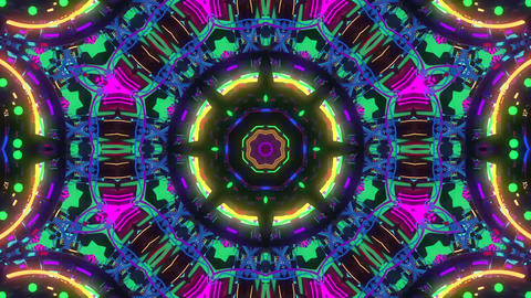 Colorful Kaleidoscope Animation