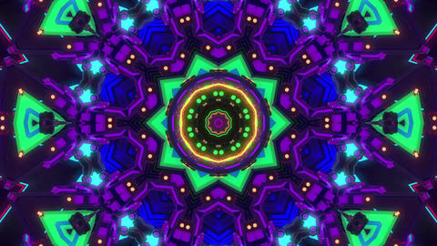 glass kaleidoscope pattern Animation