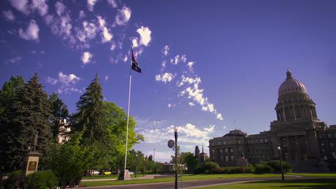 Boise Capitol Pan down 画像