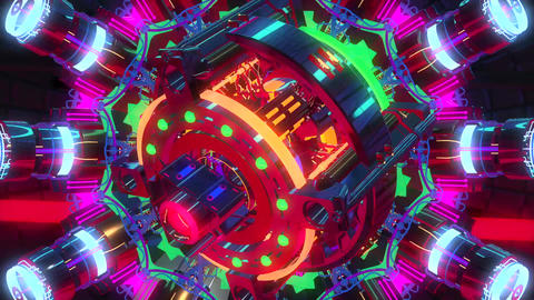 VJ Cosmic Multicolor Abstract 2 Animation