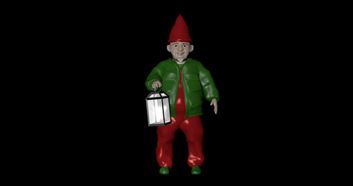 Zwerg lampe png Animation