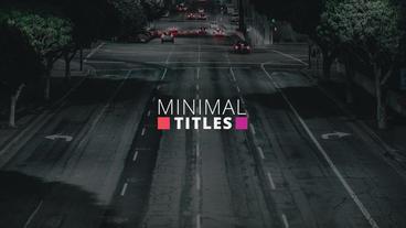 Simple Colorful Titles Plantilla de After Effects