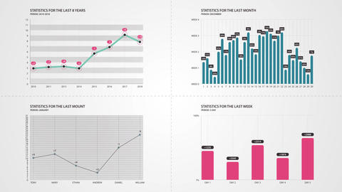Infographic Creator After Effects Template