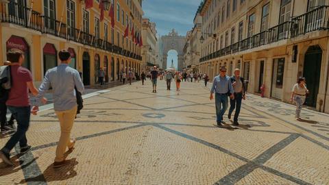 Lisbon, Portugal Footage