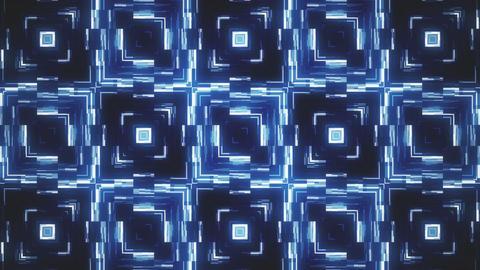 Glowing Fractal Abstract Vj Loop Animation
