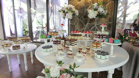 Candy Bar Wedding, candy buffet, delicious Candy bar at a wedding