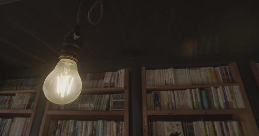 風で揺れる豆電球 ライブ動画
