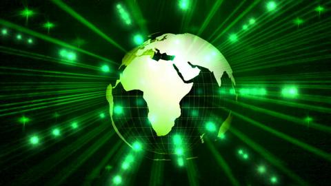 DIGITAL GREEN WORLD Animación