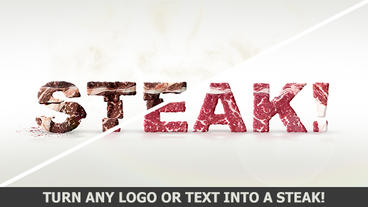 Logo of meat After Effects Template