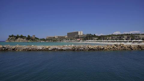 Halkidiki, Greece Sani luxury hotel resort view Live Action