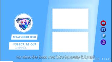 Mrwhosetheboss Outro _ by Afkarzemer After Effects Template