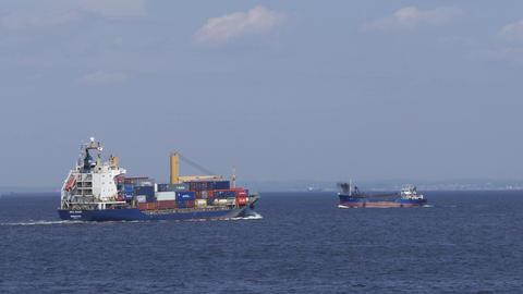 Yokohama Port Footage