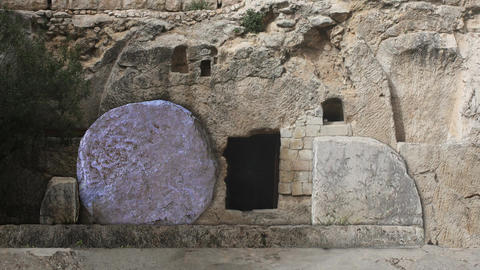 The Tomb of Jesus Opening Rolling Stone Easter Morning Footage