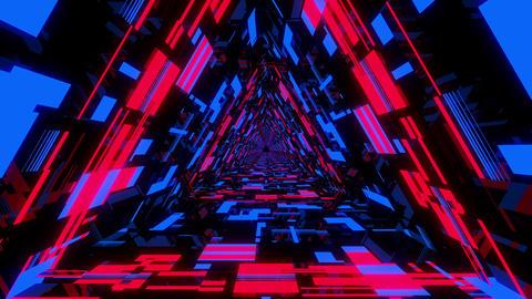 Neon Tunnel VJ Loop 3 Animation