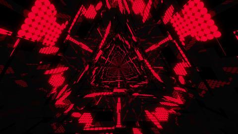 Neon Tunnel VJ Loop 2 Animation