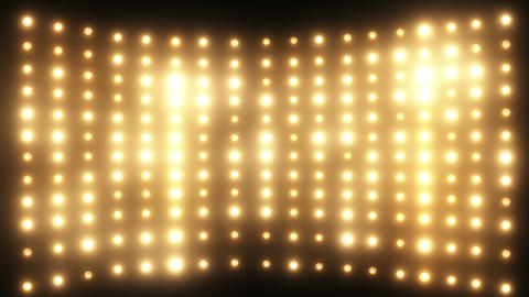 Wall of Yellow Lights Animation