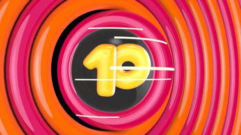 Top 10 Cartoon Numbers Transition Pack- 10 Videos+Bonus stock footage