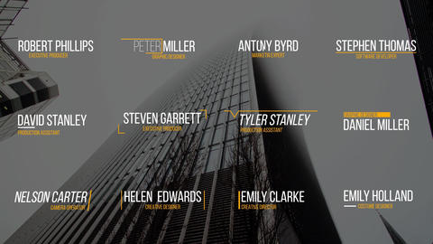 Minimal Lower Third After Effects Template
